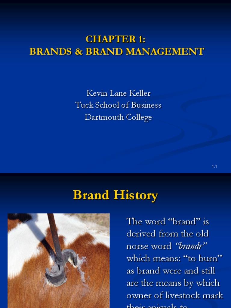 Strategic Brand Management Keller Chapter 1 Pdf Brand Product Business