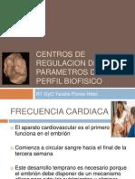 Centros de Regulacion de Los Parametros Del Perfil