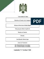 Sistema de Deteccion de Huella Digital Luis Eduardo Moran Lopez