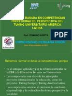 Domingo Huertas-Formacion Basada en Competencias.upeu