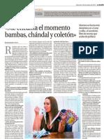 Mónica Naranjo - La Razón - 30.10.2013