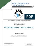 Sandoval-Prob. & Estadistica-InvestigaciónTemario.