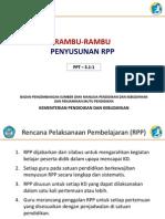 3.1.1 Rambu-Rambu Penyusunan RPP Tematik