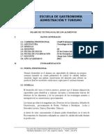 SILABO TEC  DE LOS ALIM ENE-11 MAÑANA