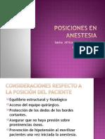 Posiciones1 en Anestesia