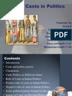 Role of Caste in Politics.pptx