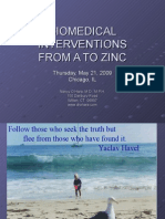 BIOMEDICAL INTERVENTIONS FROM A TO ZINC