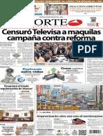 Periódico Norte de Ciudad Juárez 30 de Octubre de 2013