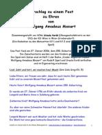 Mozartfest Probe