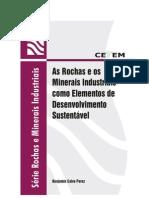rochas e minerais industriais como elementos do desenvolvimento sustentável