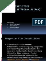 Flow Instabilities