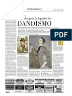 Dandismo, pequeña guía El Mercurio