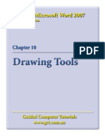 Learning Microsoft Word 2007 - Drawing Tools