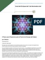 Preprense Para El Portal Del Eclipse Del 3 de Noviembre Del 2013 - Hermandad Blanca.org