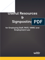 Useful Resources and Signposting