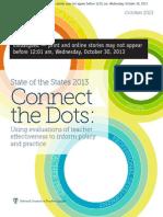 NCTQ teacher evaluation report