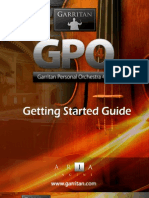 Personal Orchestra Getting Started Guide