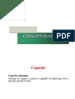 Capacity Pln