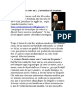 Steve Jobs - En La Universidad de Stanford (2008)