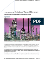 The History & Evolution of Thermal Flowmeters