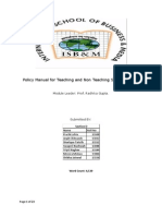 Policy Manual for Teaching and Non Teaching Staff of ISB.docx