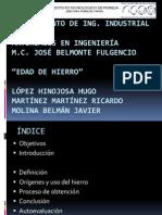 EDAD DE HIERRO