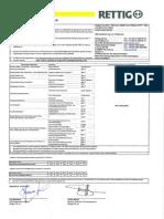 Leistungserklärung Objekt line EPS T, 4 kPa