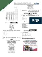 1ª P.D - 2013  (3º ano -  L.P)