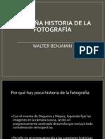 PEQUEÑA HISTORIA DE LA FOTOGRAFÍA