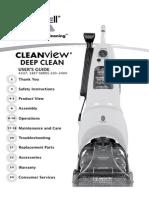 Bissell cleanview deep clean vacuum