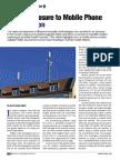 Human Exposure to Mobile Phone EM Radiation , Dr. Rajiv Kumar Singh, EFY - May 2013.pdf