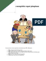 Tata Cara mengelola rapat.pdf