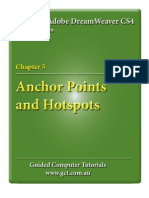 Learning Adobe DreamWeaver CS4 - Anchor Points