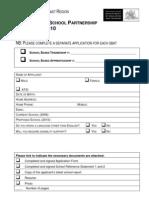Application Form Wyong Trade School 2010