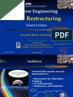 SE Code Restructuring