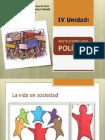 institucionalidad política. IV medios