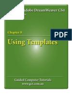 Learning Adobe DreamWeaver CS4 - Templates