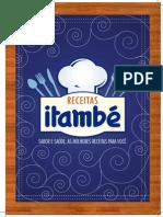 Livros de receitas Itambé