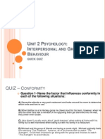 unit 2 psychology quiz