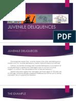 PPT english Juvenile Deliquences
