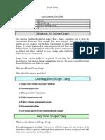 Case Study - Scope Management