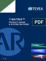 Artevea T-Matrix Product Range & System Features.pdf