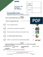 2013 Engleza Concursul Evaluare in Educatie Etapa II Clasa a Iva Subiecte[1]
