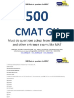 Cmat 2012 Question Paper With Solution Pdf