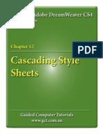Learning Adobe DreamWeaver CS4 - CSS Styles