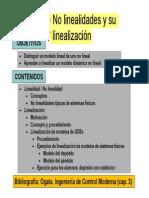 T2.2 No Linealidades y Linealizacion