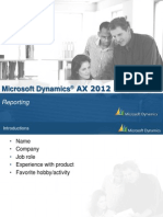 Ssrs in AX2012