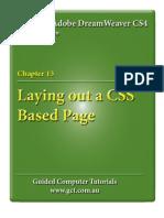 Learning Asobe DreamWeaver CS4 - CSS Layouts