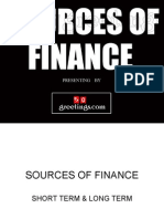 Sources of Finance by www.50greetings.com