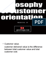 The Philosophy of Customer Orientation by www.50greetings.com